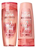 LOreal Paris Elvive Smooth Intense Smoothing Shampoo and Conditioner Set 12.6 Ounces
