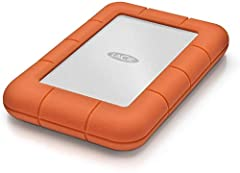 Travel with a massive capacity of up to 5TB in an ultra compact portable external hard Drive For those who have a need for Speed, seamlessly connect to USB 3. 0 computers and transfer content Fast with speeds of up to 130MB/s Trek confidently with an...