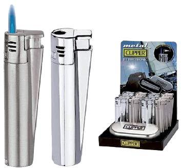 Clipper Jet - Mechero electrónico con caja de regalo