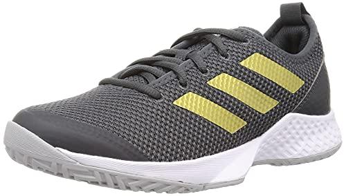 adidas Court Control W, Zapatillas Deportivas Mujer, GRISEI/Dormet/FTWBLA, 39 1/3 EU