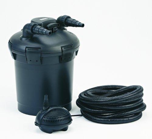 Pontec 57146 PondoPress Pumpe 10000 | Druckfilter | Komplettset mit Teichfilter | Aussenfilter | Teichfilter | UVC
