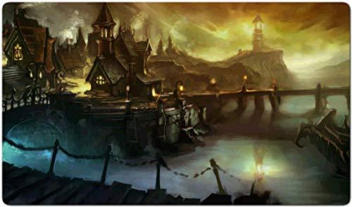 103829 - World of Warcraft-Brettspiel MTG Spielmatte Tischmatte MTG playmat Größe 60x35cm Mousepad Spielmatte für TCG Magic The Gathering