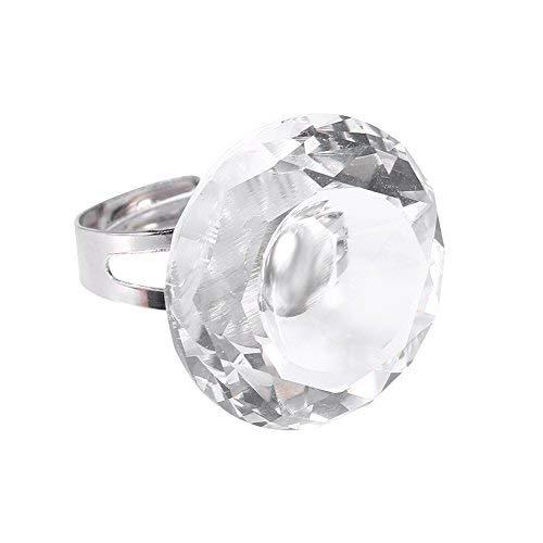Coupe bague, Pigment anneau d'ongle, Extension de cils, Adhésif de bague de recouvrement Débutants et professionnels(Transparent)