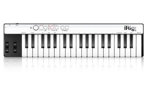 IK Multimedia IKM_IRIG_KEYS iRig Keys Clavier MIDI pour iPod/iPad/iPhone/PCMac Noir