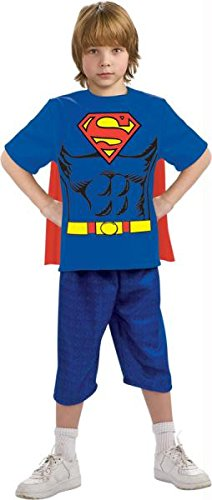 Superman Child Shirt Cape Md
