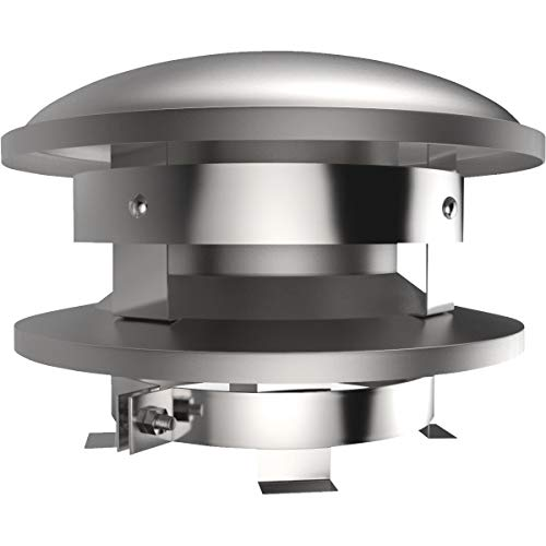 SELKIRK CORP - Sure-Temp 8-Inch Stainless Steel Round Top