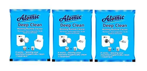 Atomic Washing Machine Tub Cleaning Powder 150Gm X3
