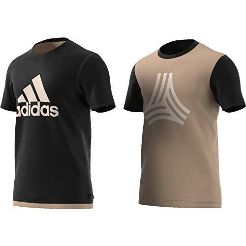 adidas Tango Reversible Jersey Camiseta, Hombre, Negro, L