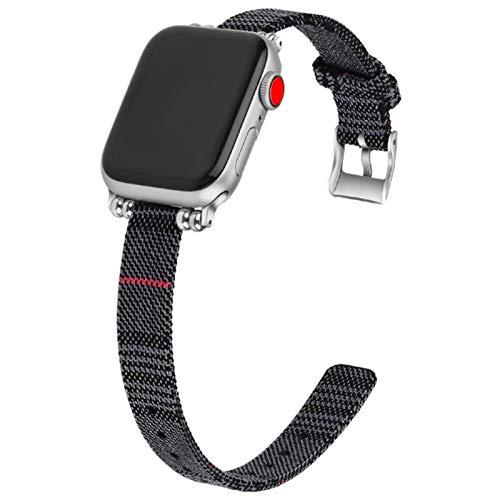 Bandas de reloj para Apple Watch Band 44mm 40mm Series 5 4 3 correa para iwatch bandas tela 38mm 42mm mujeres hombres muñeca