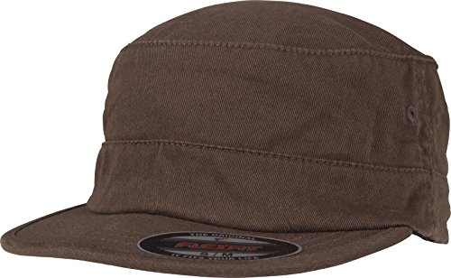 Flexfit Top Gun Garment Washed Cap, Brown, L/XL