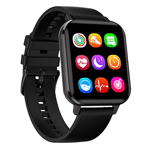 Utry Smart Watch,Activity Tracker,Fitness Watch with Heart Rate Blood Pressure Blood oxygen ECG Sleep Monitor, 1.78''HD Touch Screen,24h Step Calorie Counter IP68 waterproof for Men Women IOS Android