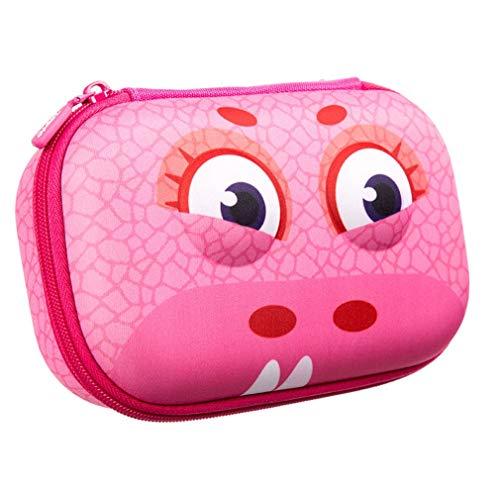 ZIPIT Wildlings Pencil Case/Pencil Box/Storage Box, Pink