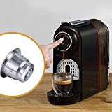 YJX - Cápsulas de café reutilizables de acero inoxidable con múltiples filtros de café de llenado