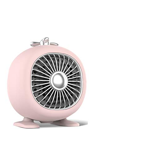Mini Heater,electric Heaters,small Aircon,air Cooler And Heater,ceramic Heater,110V/220V,Small Size And Complete Functions,pink