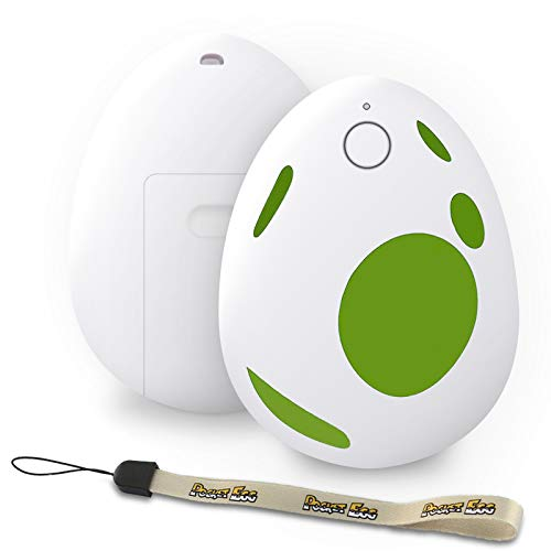 Pocket Egg Auto Catch Pokemon, Catching and Collecting Accessory for Pokemon Go, 20m Range Long Distance Wireless Connection, Long Standby Time (Green)