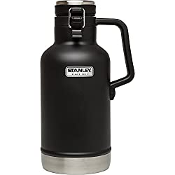 black growler for beer