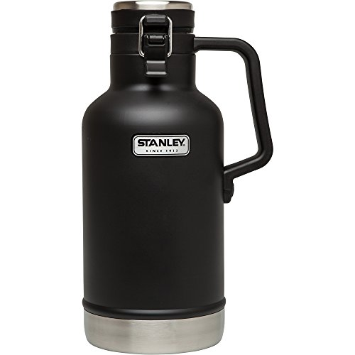 Stanley Classic Vacuum Insulated Growler, 64 oz, Matte Black