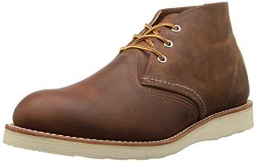 Red Wing Men's Heritage Work Chukka Boot, Copper Rough And Tough, 8...