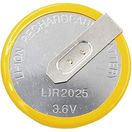 1x Batterie Akku Lir2025 Knopfzellen Akku 3 6v Für Elektronik
