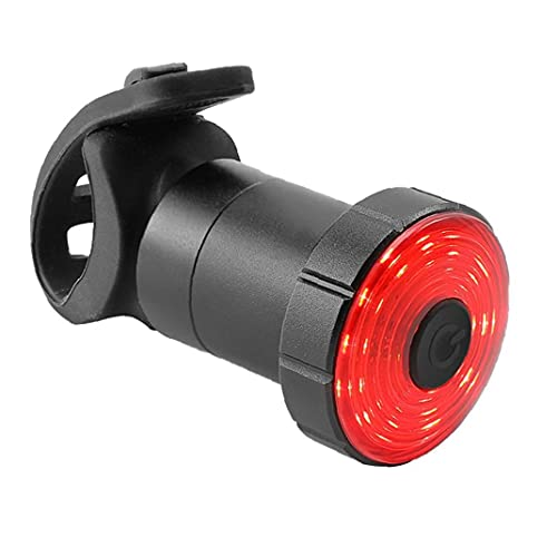 YepYes Bicicleta De Luz De La Cola, Accesorios USB Recargables Impermeables Bicicleta Luz Trasera Led De Advertencia De Seguridad De La Lámpara De Luz Estroboscópica para