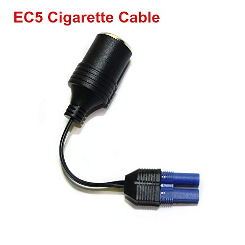 Best Price HNIWDJ Cigarette Lighter Power Socket 12V Adapter for car Jump Starter Converter Cable Em...