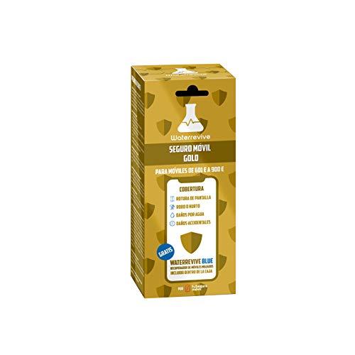 Waterrevive Gold - Seguro Movil Total de 1 Año, para moviles o Tablets Desde 601 € hasta 900 €
