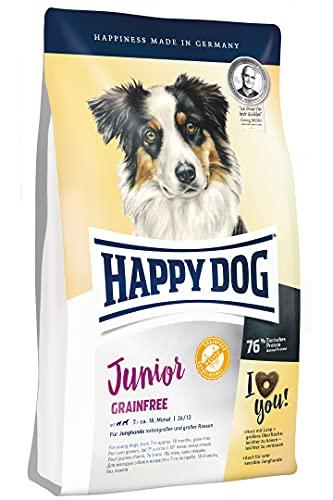 Happy Dog Supreme Junior Grain Free Croquette pour Chien 10 kg