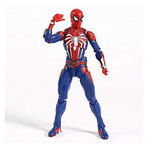 WXFQX PS4 Juego Spiderman Advanced Trat Ver.Figura de acción de PVC SHF Spider Man Modelo Juguete Regalos para niños