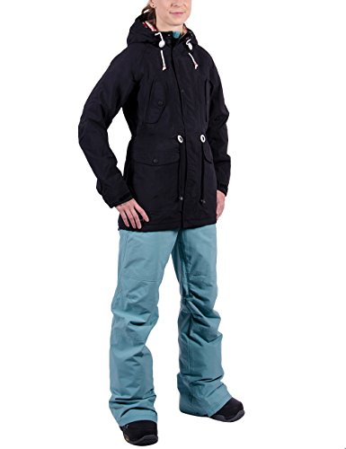 Nitro Damen Snowboard-Jacke Niseko W Jacket 15, Black, M