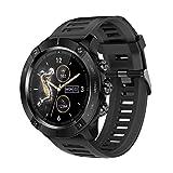 ZWG Reloj inteligente MC01 Frecuencia cardíaca Presión arterial Monitoreo de salud Smartwatch Reloj deportivo para hombres IOS Android Teléfonos (B)