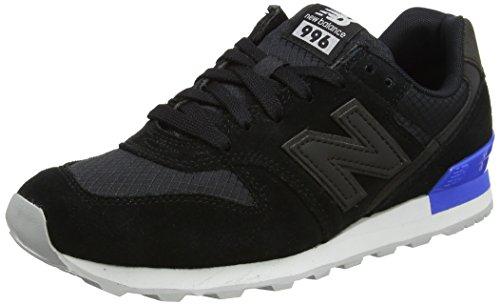 New Balance WR996, Zapatillas Mujer, Negro (Black), 37 EU