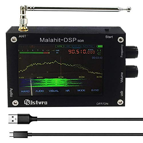 1.10b 3.5' 50KHz-2GHz DSP SDR Receiver Malahit DSP SDR Receiver Malahit SDR Shortwave Radio Receiver Malachite DSP SDR Receiver ,Aluminum Alloy, with Cooling Hole