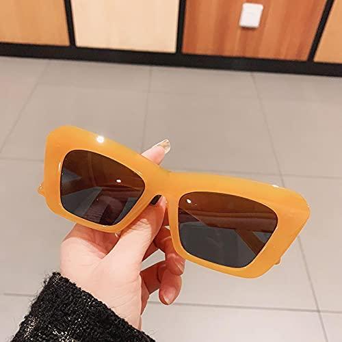 ShSnnwrl Único Gafas de Sol Sunglasses Gafas De Sol De Ojo De Gato Vintage para Mujer Y Hombre, Gafas De Sol De Diseñador Retro R