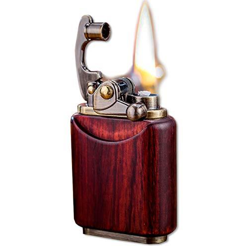 Briquet à essence en bois de pal...