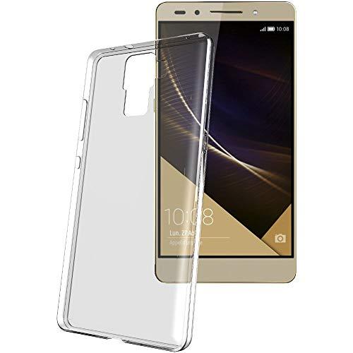 ebestStar - Huawei Honor 7 Hülle Handyhülle [Ultra Dünn], Premium Durchsichtige Klar TPU Schutzhülle, Soft Flex Silikon, Transparent + Panzerglas Schutzfolie [Honor 7: 143.2 x 71.9 x 8.5mm, 5.2''] - 2
