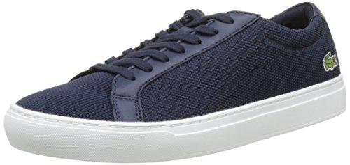 Lacoste L 12.12, Herren Sneaker, Blau (dunkelblau dunkelblau), 44 EU (9.5 UK)