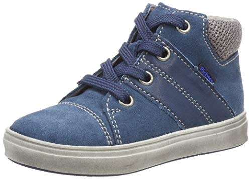 Richter Kinderschuhe Jungen Jimmy Derbys, Blau (pacific/ash 6701), 24 EU