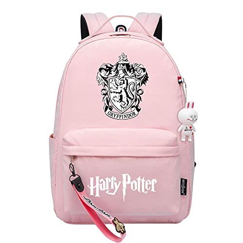 MMZ Bolsa de libros de brujería con mochila de Harry Potter para chica joven adecuada para viajes / escuela / ocio (#20)