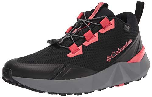 Columbia Facet 30 Outdry, Zapatillas para Caminar Mujer, Black Red Coral, 36.5 EU