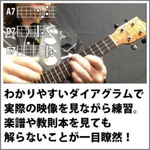 『ブルースでウクレレ【基本コード編】/U-BL-01』のトップ画像