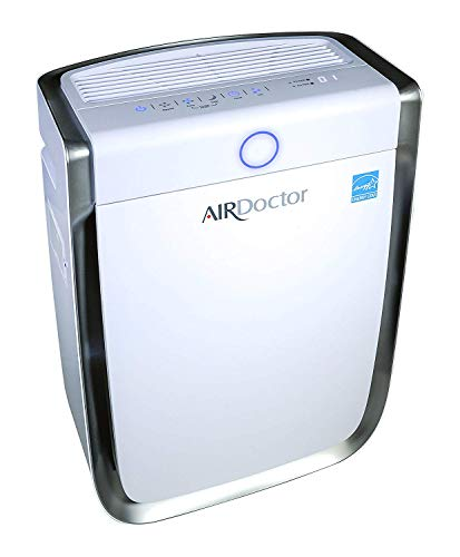 AIRDOCTOR 4-in-1 Air Purifier UltraHEPA, Carbon & VOC Filters Cleaner Sensor Automatically adjusts Filtration to air Quality! Portable. Quiet. Captures Particles 100x Smaller Than Ordinary HEPA.