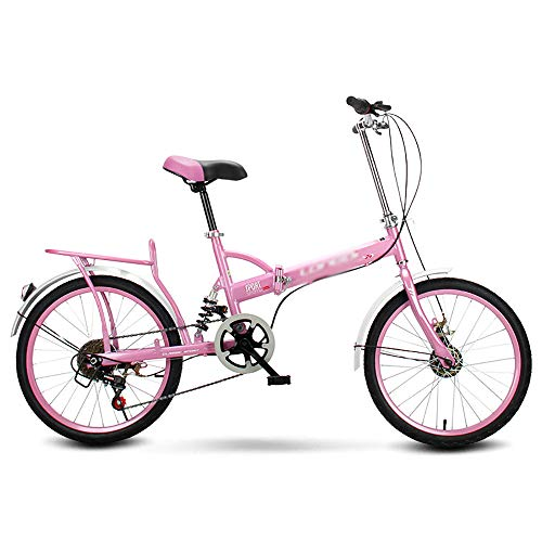 ltraleichte Falt-Fahrrad, Faltbares Sport Klapprad,Quick-Fold-System tragbare Folding Bike, 16 * 20 Zoll Klappfahrrad, Freizeit Fahrrad,