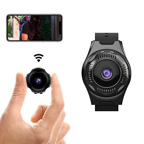 WLAN Mini Kamera HD 1080P IP Mini Kameras Armband Kamera Ultra Kleine Kamera WiFi Remote View Home Security Cam Mini Security Monitoring 160°Angle Nanny Cam Nachtsicht Bewegungserkennung