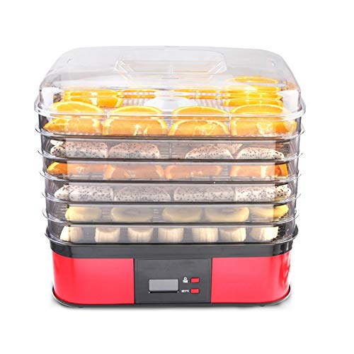 Buy Discount ZSQHD Household Food Dehydrator Fruit Vegetable Meat Dehydrator Extra Long Timing Food ...