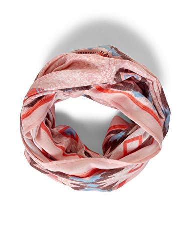 CECIL Damen 571282 Softer Loop im Ethno-Print Mode-Schal, bright rose, One Size