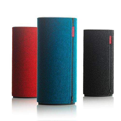 Libratone Zipp Kabelloser Airplay Lautsprecher (Classic Collection (schwarz rot blau))