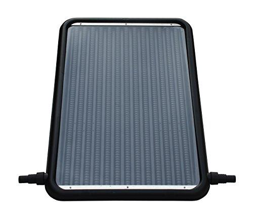 FlowXtreme NS1002 Flat-Panel Pool Solar Heater, Black