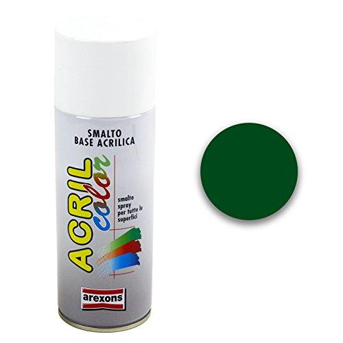 arexons–esmalte Acrílico Spray, paquete: 400ML, verde, ral 6011 - verde reseda