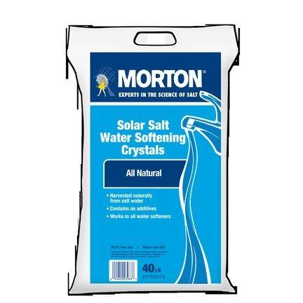 Morton Salt 1470 40-Lb. Rust Remover Pellets - Quantity 126