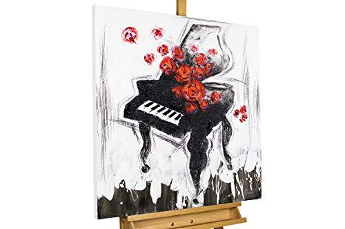 Kunstloft® Cuadro en acrílico 'Piano Forte' 80x80cm | Orig